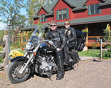 Special motorcycling packages for weekend getaways