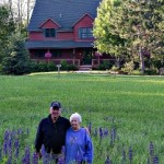 Innkeepers John & Sandra in a recent photo by guest Danielle D'Ermo