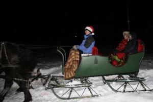 a-Darwyn Bronwn & sleigh ride 12-28-13